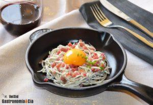 Receta de anguriñas con jamón ibérico para las cenas navideñas