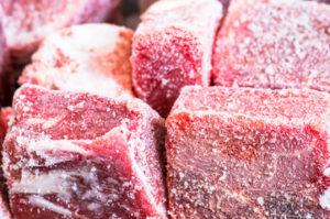 Carne congelada libre de toxoplasmosis
